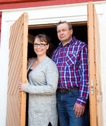 Sari Hintikka-Varis ja Matti Varis